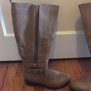 Riding boots 6 1/2 wide with calf opening of 20""